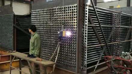换热器管板焊机