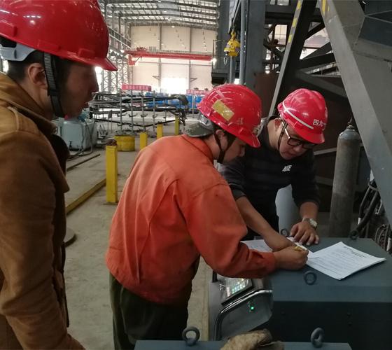管管自动焊培训现场