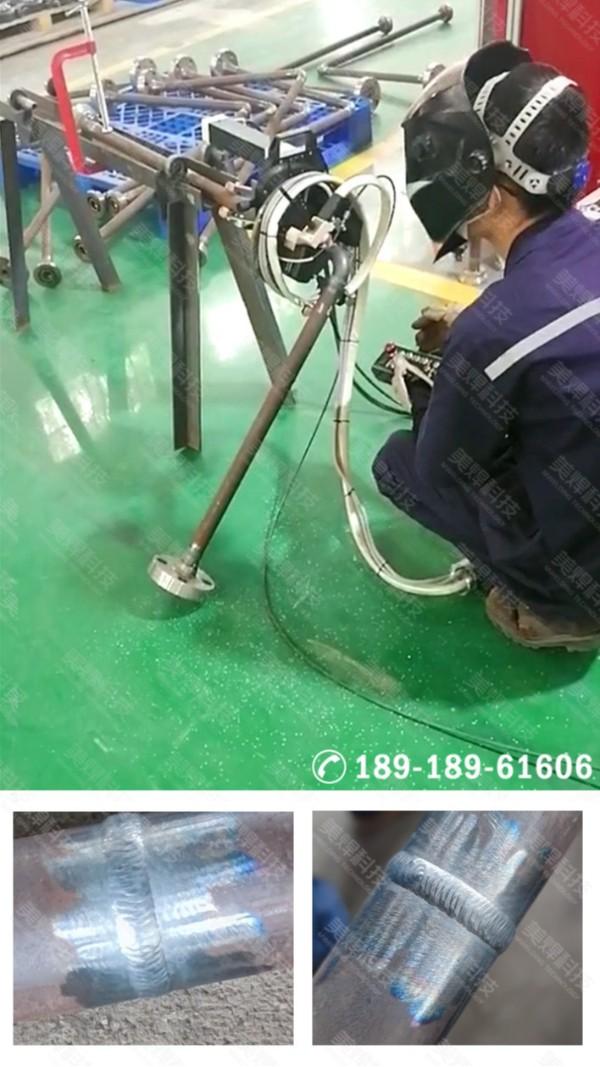 MWG系列开放式管道自动焊机应用于陕西石油化工行业项目