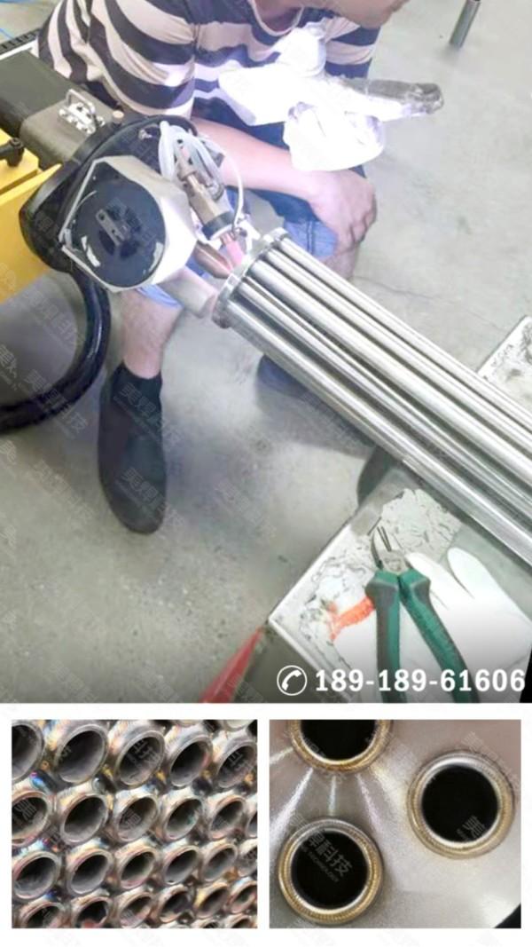管板焊机 管板自动焊 应用于湖北换热器行业项目