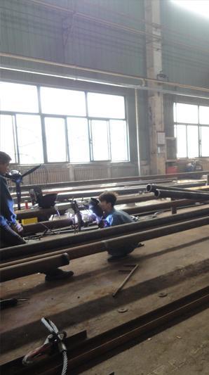 开放式管管焊机应用在南京管道设备厂  咨询电话:18918961606