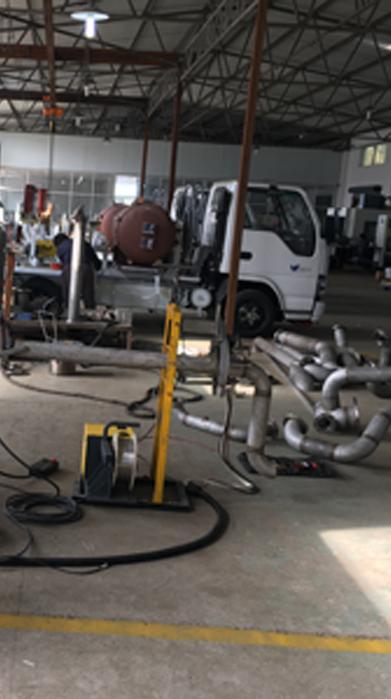 开放式自动管管焊机