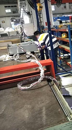 换热器U形管焊接现场